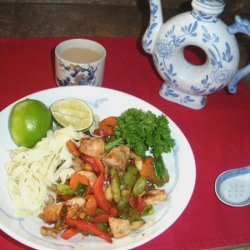 Spicy Pork Stir Fry recipe