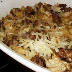 Comforting Cabbage and Sausage Casserole recipe