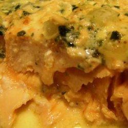 Pan Seared Salmon With Tarragon Cream recipe
