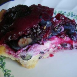 Blueberries Cream Cheese Pie recipe