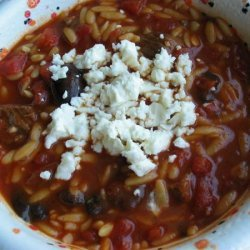 Beef and Orzo Soup recipe