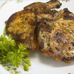 Pork Steaks With a Orange Rosemary Sauce recipe