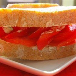 Mostly a Tomato Sandwich With Basil Mayonnaise recipe
