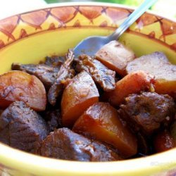 Slow Cooker BBQ Beef Stew recipe