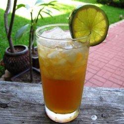 Sparkling Fruity Green Tea recipe