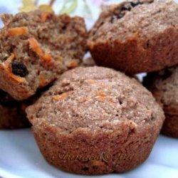 Carrot Raisins Bars recipe
