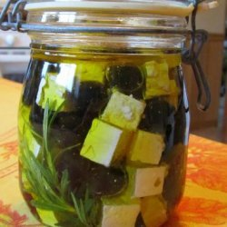 Feta and Olives in a Jar recipe