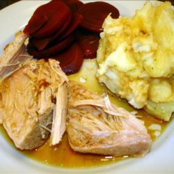 Teriyaki Pork Roast for the Crock Pot recipe