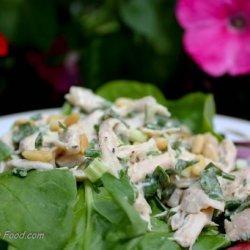 Basil Scented Chicken Salad recipe