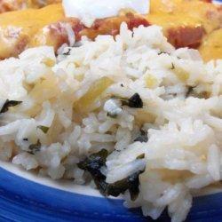 **copycat** Costa Vida Green Rice recipe