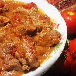 Stewed Chicken - Trinidad Style recipe