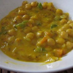 Butternut Squash and Chickpea Stew With Couscous recipe