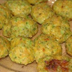 Amy's Cheezy Broccoli Balls recipe