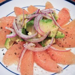 Avocado Grapefruit Salad recipe