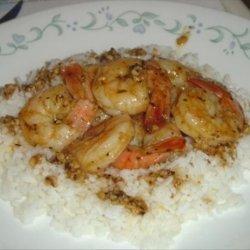 Butterflied Florida Shrimp Scampi recipe