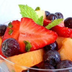 Sweet Melon and Berry Toss or Minty Fruit Salad (Ww) recipe