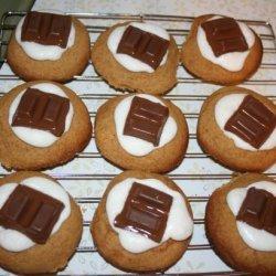 S'more Thumbprint Cookies recipe