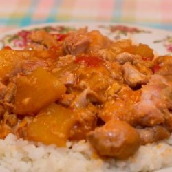 Cara's Sweet and Sour Crock Pot Chicken recipe