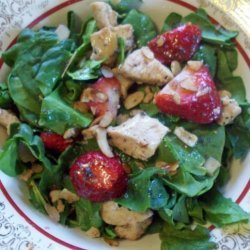 Chicken and Strawberry Spinach Salad recipe