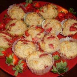 Strawberry Love Muffins recipe