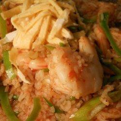 Spicy Prawn Fried Rice from New Zealand recipe