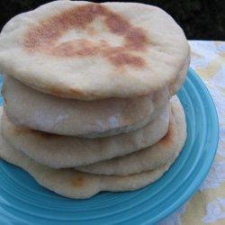 Whole Wheat Pita for Bread Maker recipe