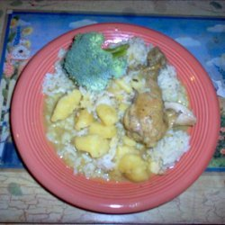 Caribbean Curry Chicken recipe