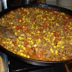 Easy Hamburger Corn Casserole recipe