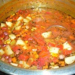 Bean and Potato Soup recipe
