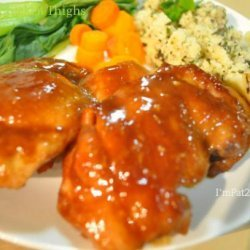 Hoisin Chicken Thighs recipe