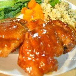 Hoisin Chicken Thighs recipe