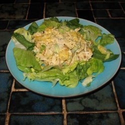 Mango Curry Chicken Salad recipe
