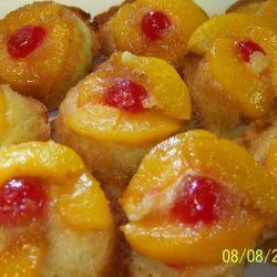 Peach Upside Down Muffins recipe