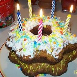 Doggie Birthday Cake for Dogs recipe