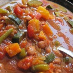 Vegan Sweet Potato Chili - Slow Cooker Version recipe
