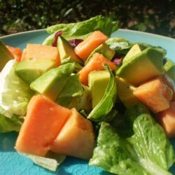 Simple Papaya Avocado Salad recipe