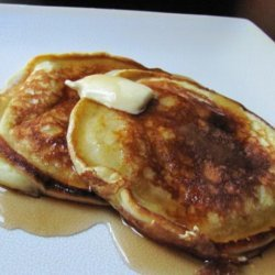 Mama's Sour Cream Eggy Hot Cakes recipe