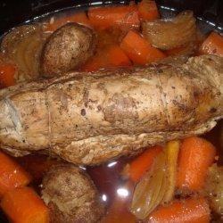 Crockpot Pork Pot Roast recipe