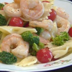 Lemon Shrimp Pasta Salad recipe