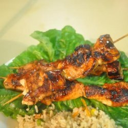 Grilled Indonesian Chicken Satay recipe