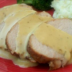 Honey, Mustard and Rosemary Roast Pork recipe