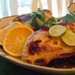 Broiled Soy, Garlic, Citrus Chicken recipe
