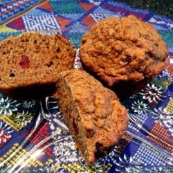Matthew's Healthy Low Fat Vegan Carrot Spice Muffins recipe