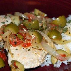 Tomato and Olive Chicken recipe