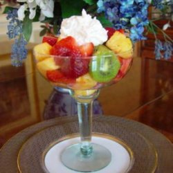 Caribbean Fruit Salad With Coconut Cream Dressing recipe