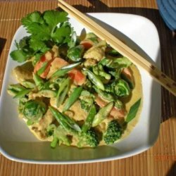 Chicken Tenders With Carrots and Broccoli recipe