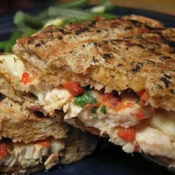 Chicken and Roasted Pepper Panini recipe