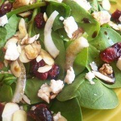 Craisins Spinach Salad recipe