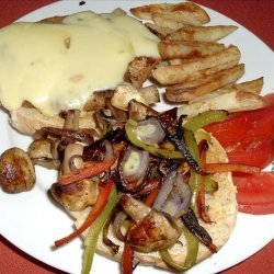 Chicken F/Philly Sandwich recipe