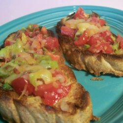 Grilled Olive Bread recipe